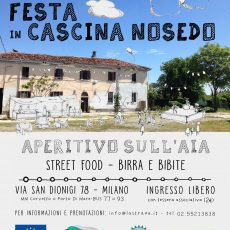 FESTA IN CASCINA & BIKE BOX WORKSHOP!
