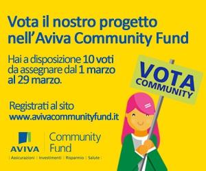 Il nostro progetto per AVIVA Community Fund