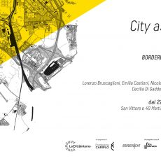 Fucine Vulcano a Borderlight – City as a Vision