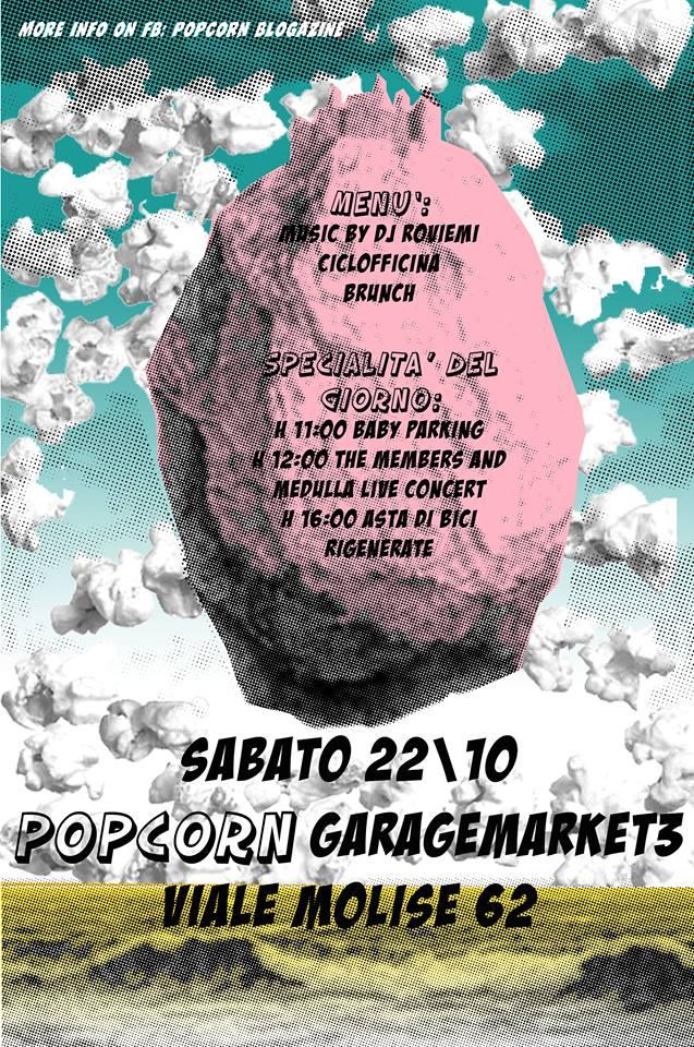 PopCorn Garage Market #3 by PopCorn Blogazine